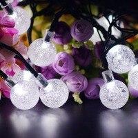 Fashion Solar lamp string LEDstrip festival colorful lamp string outdoor waterproof light Christmas decorationlight LED lantern
