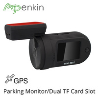 Dash Cam Car Camera Mini 0807 Upgraded Mini 0805 Amba A7LA50 Chip Parking Monitor GPS Dual