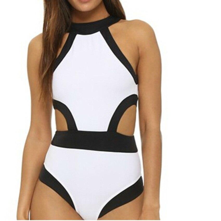 Logical Womens Swimming High Waist Bikini Suit s Bikini Zipper Retro Print Double-sided Split Swimsuit Monokini Bikiny Bikini Maillot Cool In Summer And Warm In Winter Bikinis Set