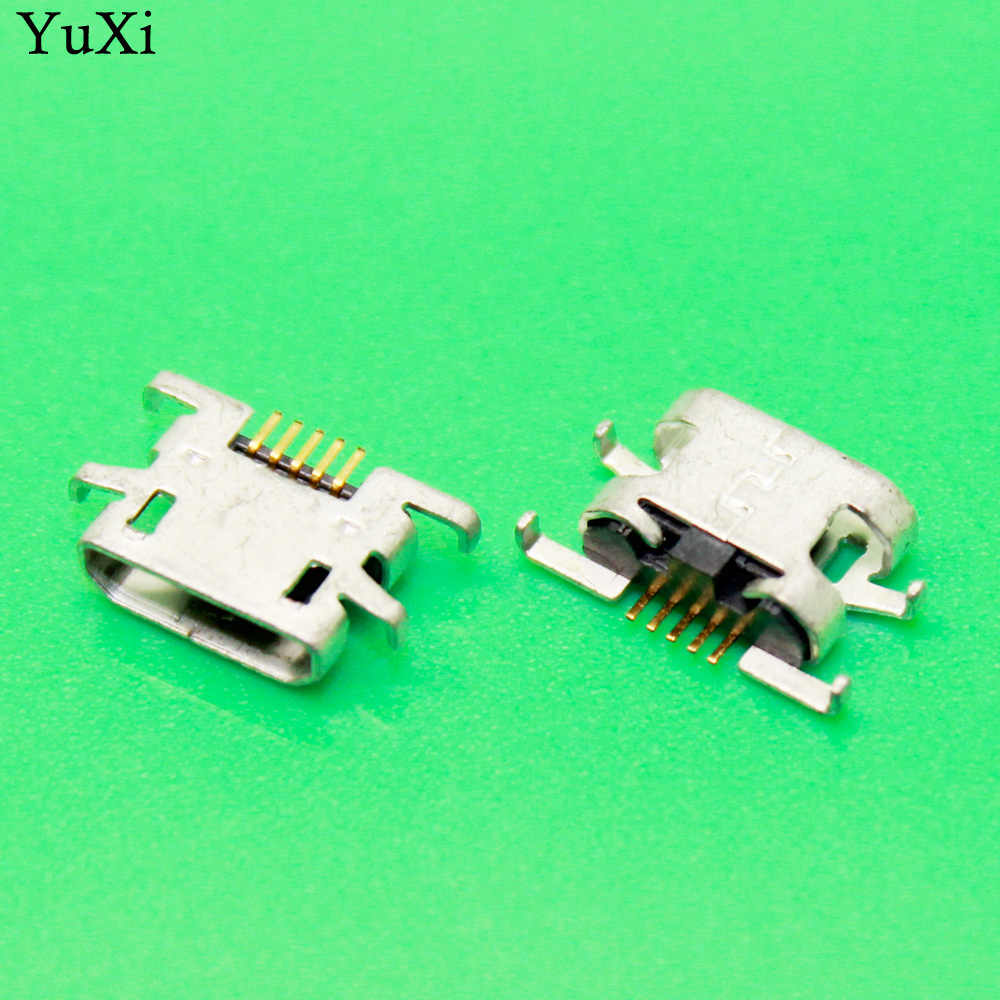 玉渓 2 個 Doogee X5 プロ X5pro 5pin USB 充電ポートコネクタプラグジャックソケットドックマイクロミニ USB 5 ピン