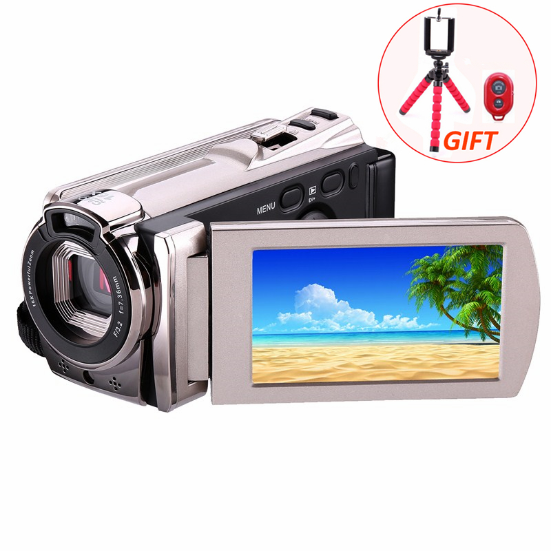 Digital Video Camera WIFI Professional Camcorder DV 16x Digital Zoom HD IR Night Vision 3.0 LCD Touch Screen Photo Camera amk7000s camera 1080p hd action digital camera 2 0 lcd 4k wifi sport dv video photo camera 20mp waterproof 40m mini camcorder