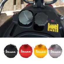 Gas Fuel Tank Filler Oil Cap Cover for Piaggio Scooter VESPA GTS GTV LX Primavera Sprint 125 150 250 300 300ie
