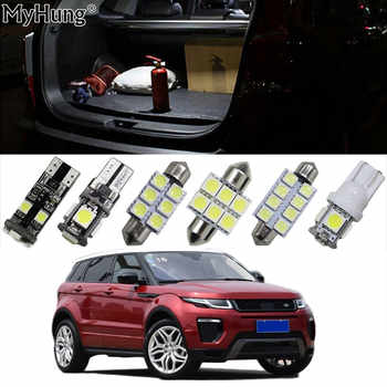For Land Rover Freelander Evoque Car Led Headlight Bulbs Replacement Bulb Dome Map Lamp Light Bright White T10 36mm 42mm 12PCS - DISCOUNT ITEM  9% OFF Automobiles & Motorcycles