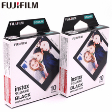 2018 Genuine Fujifilm Instax 20 Sheet SQUARE Black Frame film Photo paper For SQ10 Hybrid share sp-3 SQ Camera