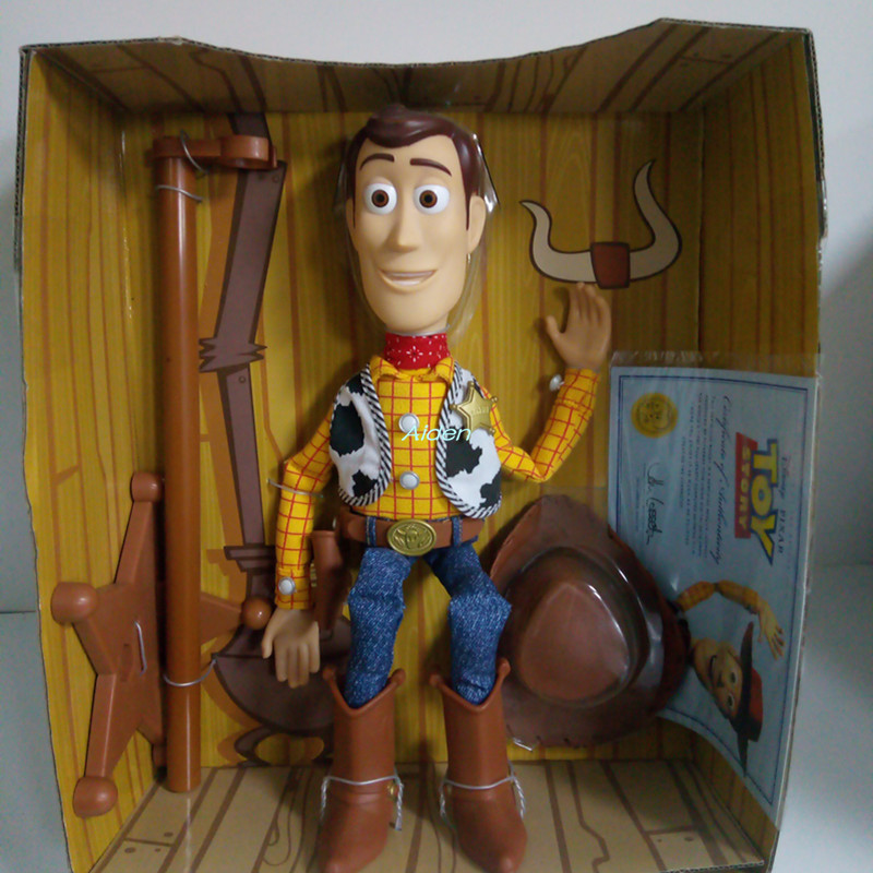Toy-Story Model-Toy Craft Action-Figure Collectible Woody Kids Gift 30CM Sound Creative