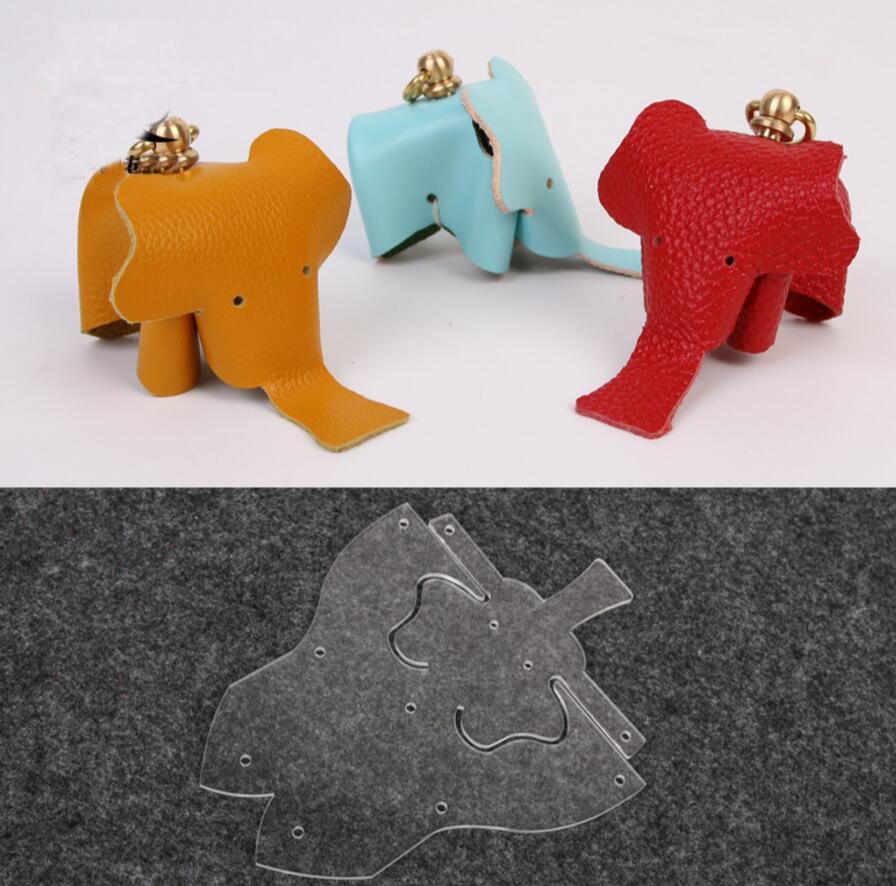 Aliexpress.com : Buy Leather Craft DIY Little Elephant Production ...