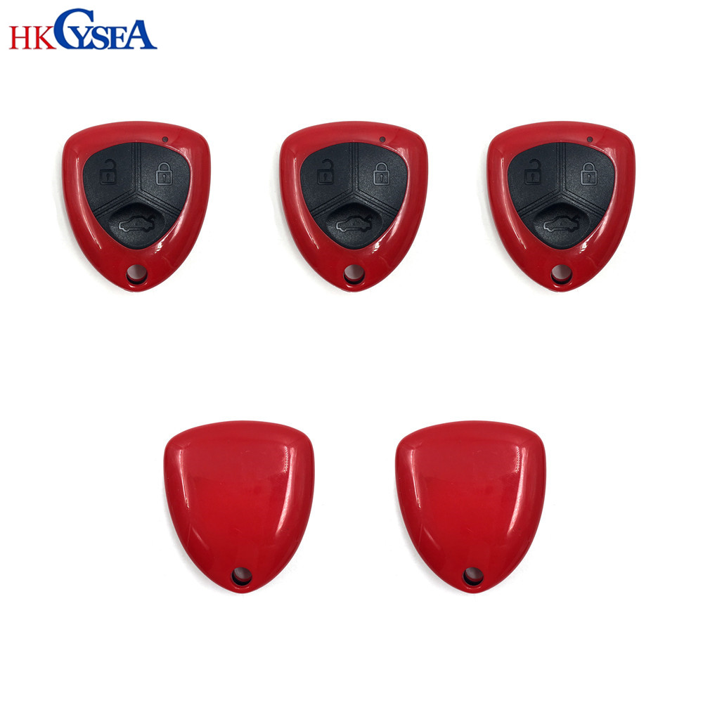 HKCYSEA 5pcs English Version VVDI2 Universal 3 Buttons Remote Car Key for Xhorse MINI Programmer