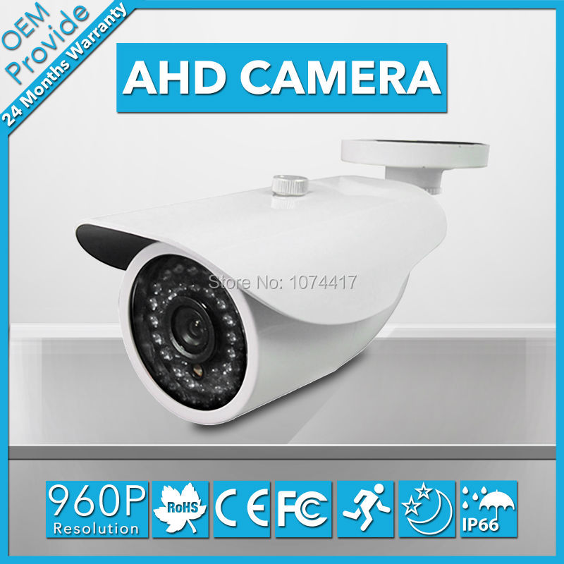 AHD3613LF-T  AHD  With Breaket 1.3MP 960P Full HD CCTV Surveillance Camera with 36pcs IR Leds AHD Camera Free Shipping