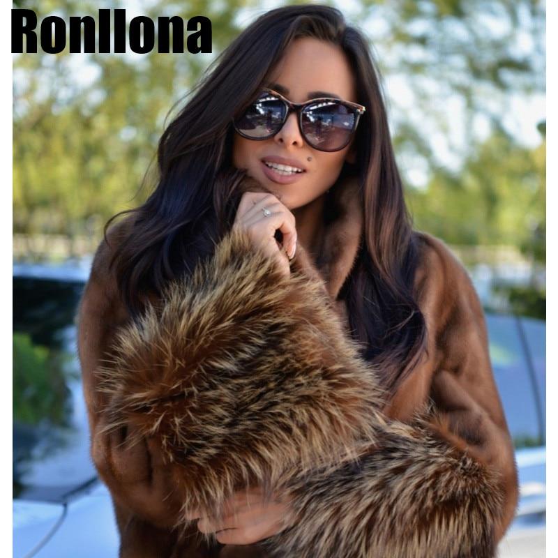 Vestes 100 Avec Nouveau Véritable Les Manteau Manteaux Vison Raton Camel Chaud De Modèle Manches Laveur Courtes Naturel Fourrure Super Femmes Mode Et Hiver Pour t4xFR7q5nw