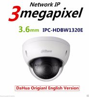 Original Dahua 3MP IPC HDBW1320E Dome IP Camera HD Network IR Security Cctv Dome IP CCTV