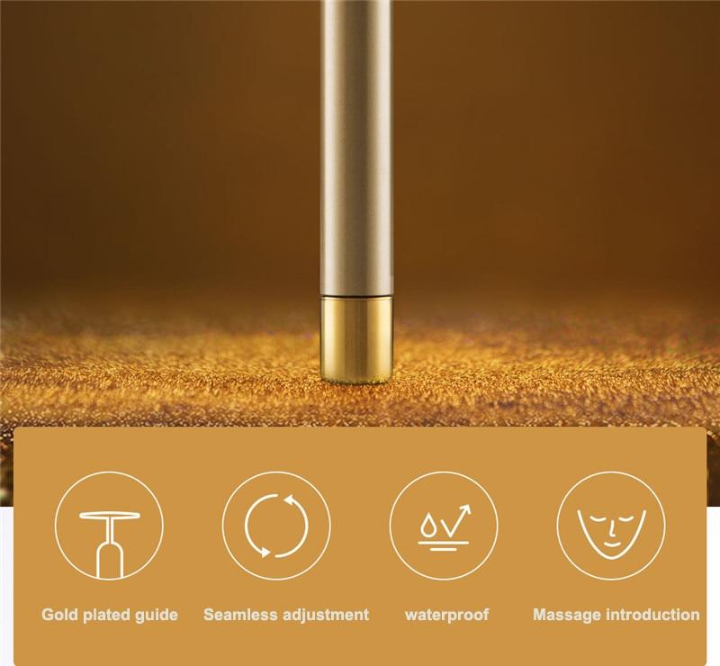 Xiaomi InFace Gold Beauty Bar Gold-plated Massage head Speed Up Metabolism Improve Edema Face-lifting SPA Portable Beauty Bar (23)