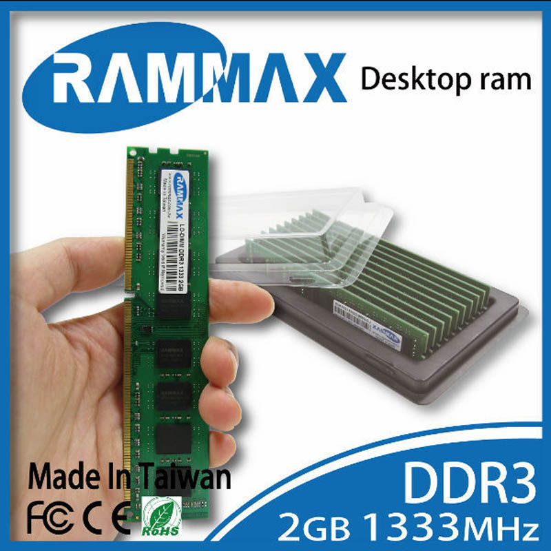 все цены на  Desktop Ram Memory 1x2GB DDR3 LO-DIMM1333Mhz PC3-10600 240pin/ CL9/Non-ECC/1.5V work with motherboards for AMD/Intel PC Computer  онлайн