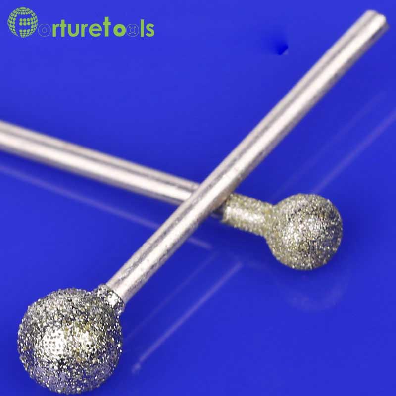 50 db gyémánt szerelt pont dremel forgószerszámra szerelt kerekek - Csiszolószerszámok - Fénykép 4