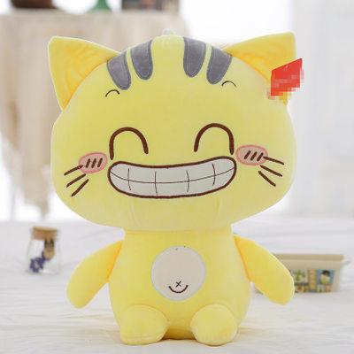 new arrival ,cute yellow cat doll 40cm plush toy cat doll soft throw pillow, Christmas gift x063 new arrival large 90cm brown cartoon cat plush toy soft stuffed doll throw pillow christmas gift h2025