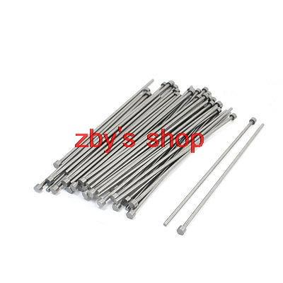 50 PCS 6mm Tip 3mm Shank 100mm Long Straight Ejector Pins Punching Mold voip yealink sip t27p