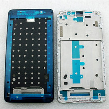 New Redmi Note 3 Front LCD Housing Middle Faceplate Frame Bezel For Xiaomi Redmi Note 3 Pro Replacement Parts With Stickers