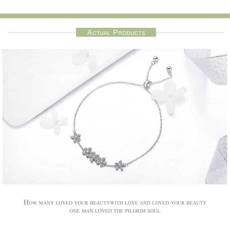 HTB1aSePEFGWBuNjy0Fbq6z4sXXaR 925 Sterling Silver Sparkling Tennis Bracelet Chain Strand Bracelets for Women Luxury Original Sterling Silver Jewelry GXB029