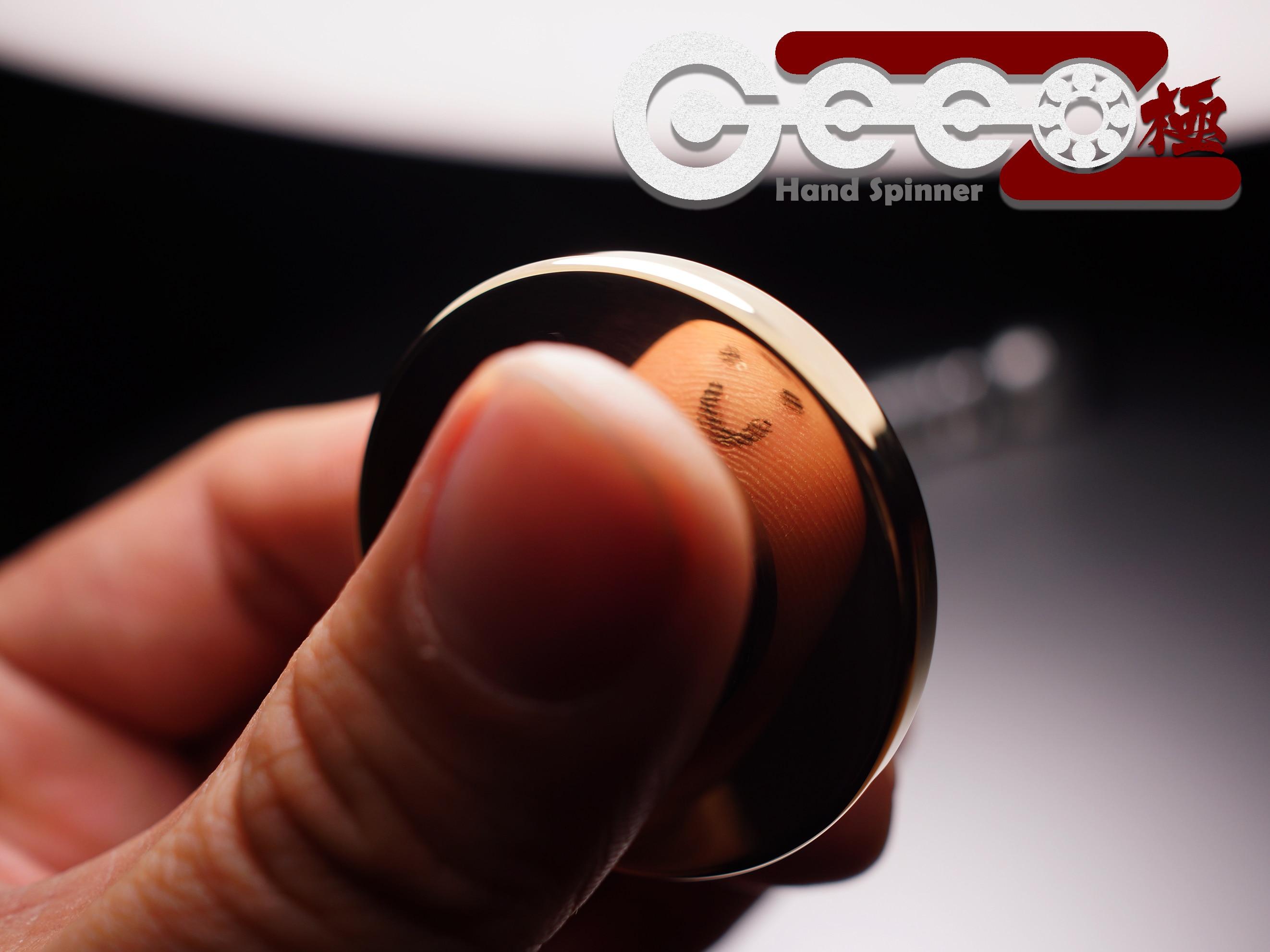 ФОТО 100% Metal Hand Spinner Cake 688 Ceramic Bearing EDC CNC Gyro Fidget HandSpinner Finger Top Desktop Game Decompression Toy