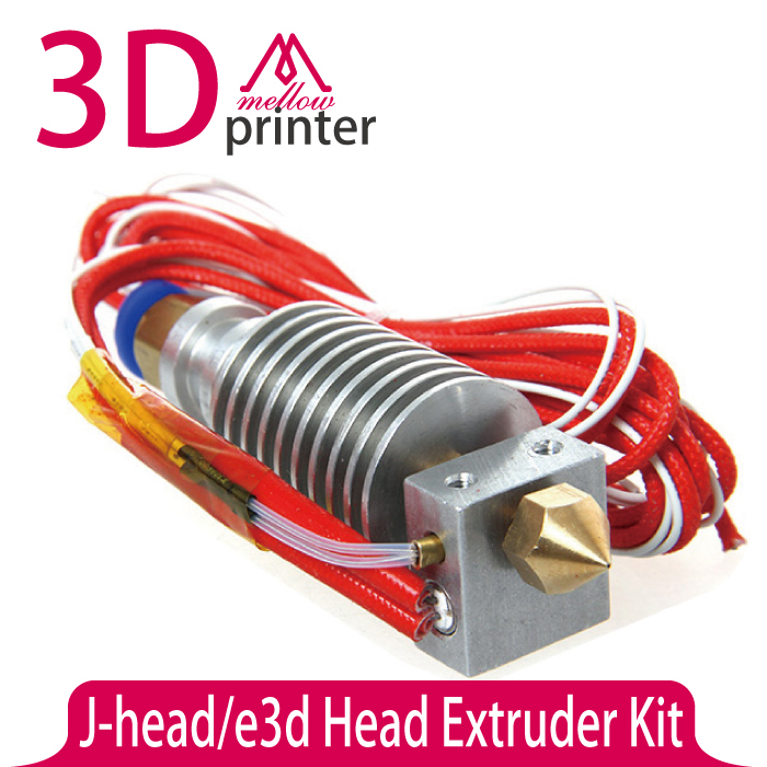 J head Printer Head Extruder 12v 0 4mm Thermistor Single Nozzles 1 75mm Filaments 3d Printer