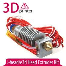 J-головы/Головка Принтера Экструдер 12 В 0.4 мм Термистора Дюза 1.75 мм Нити 3d Головка Принтера 3DA-002