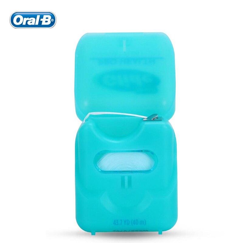Oral B 40m Gilde Pro-health Oral Hygiene Dental Floss Interdental Brush Teeth Cleaner Tooth Pick Teeth Flosser Teeth Cleaning 4