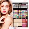 Fashion 48 Colors Makeup Contour Palette with Mirror Eyeshadow Blush Powder Gloss Face Powder Facial Concealer Palette Maquiagem
