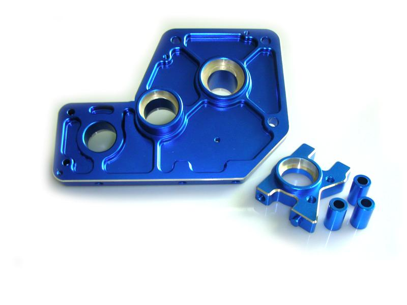 HSP RC Car Parts 054004 Alloy  Housing Mount 1/5 Scale RC Buggy Truck hsp 02023 clutch bell double gears 1p rc 1 10 scale car buggy original parts