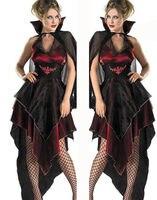Women New Victorian Gothic Georgian Dress Halloween Masquerade Ball Gown Reenactment Clothing V Neck Dresses