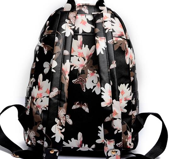 Jewelry & Accessories Women Leather Small Floral Print Preppy Style Travel Exo School For Teen Light Bolsa Feminina Jewelry Sets & More