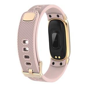 Image 2 - FROMPRO スマート腕時計メンズレディースアウトドアスポーツフィットネスブレスレット心拍数モニター血圧酸素健康スマートバンド QW16