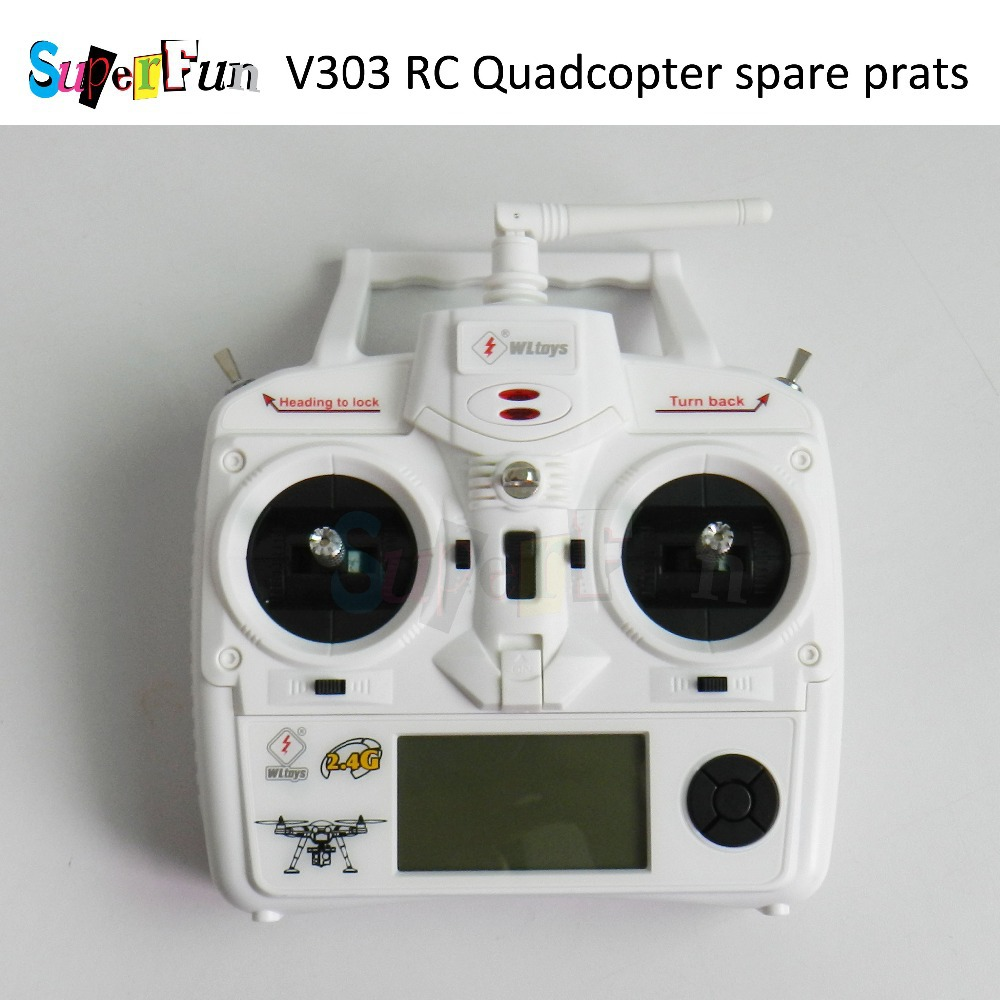 WLtoys V303 2.4G 4CH GPS Brushless Transmitter RC Quadcopter Spare Parts, Original binding remote device parts. Free Shipping.
