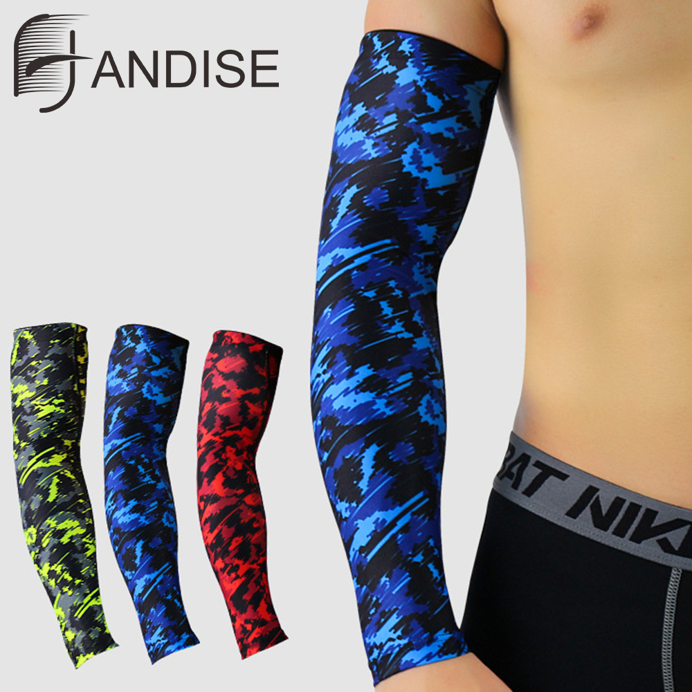 Bicycle Cycling Arm Warmers Outdoor Sports Running UV Protection Sleeves Tools
