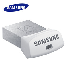 SAMSUNF USB 3.0 Flash Drive FIT mini Pen Drive 32G 64G 128G Read Speed Up to 130MB/s USB flash Support Official Verification
