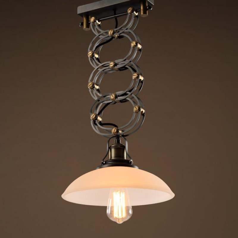 Led Vinatge Pendant Lights Retro Flexible Dining Room Bar Kitchen - Single kitchen light fixture