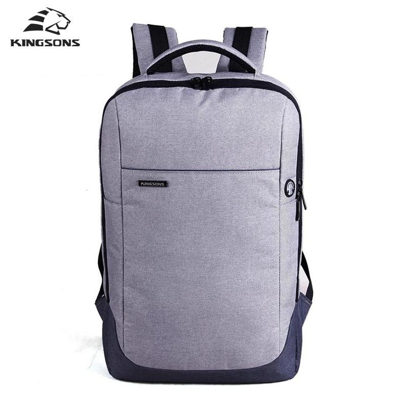 Kingsons Brand Unisex Nylon Waterproof Laptop Backpack Men Women Business Computer Notebook Bag 15.6 inch Laptop Bag School Bags цена и фото