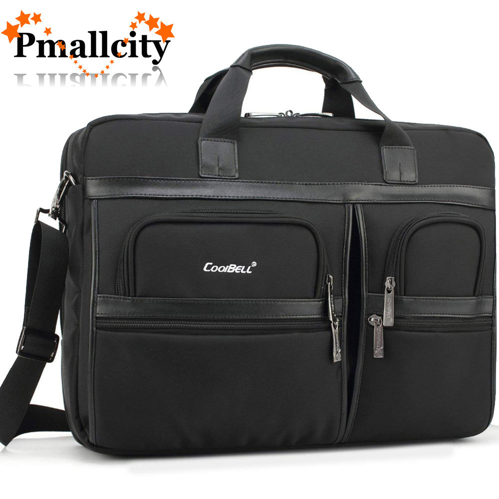 Grande pochette d'ordinateur 17.3/15.6 pouces pour Macbook Pro sacoche pour ordinateur portable multi-compartiments sacoche pour ordinateur portable sac à dos hommes sac de voyage