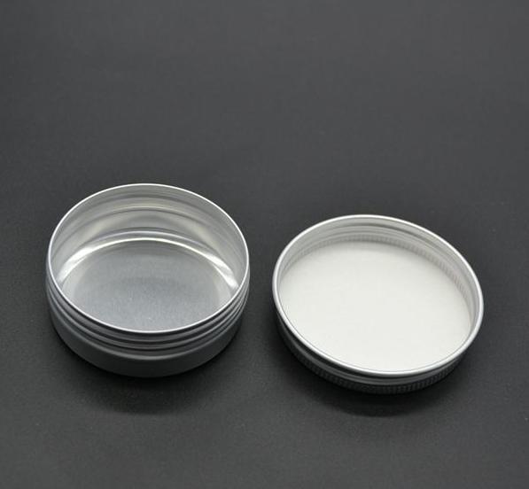 50pcs/lot 10g Aluminum Cosmetic Cream Jar Window Cap Empty Metal Jars 10ml Aluminum Box Packing Tins Container