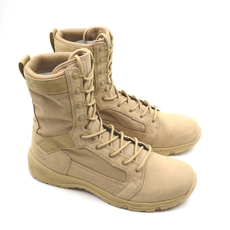 ไม้ที่มีคุณภาพสูง Land รองเท้าทหารผู้ชาย Botas Askeri Bot Bota Masculina กองทัพ Combat Coturnos Masculino Botas Militares บน   3