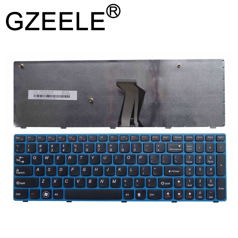 GZEELE New English Laptop <font><b>Keyboard</b></font> for <font><b>LENOVO</b></font> V570 V575 Z570 Z575 B570 B570A <font><b>B570E</b></font> V580 V580C B570G B575 B575A B575E B590 B590A image