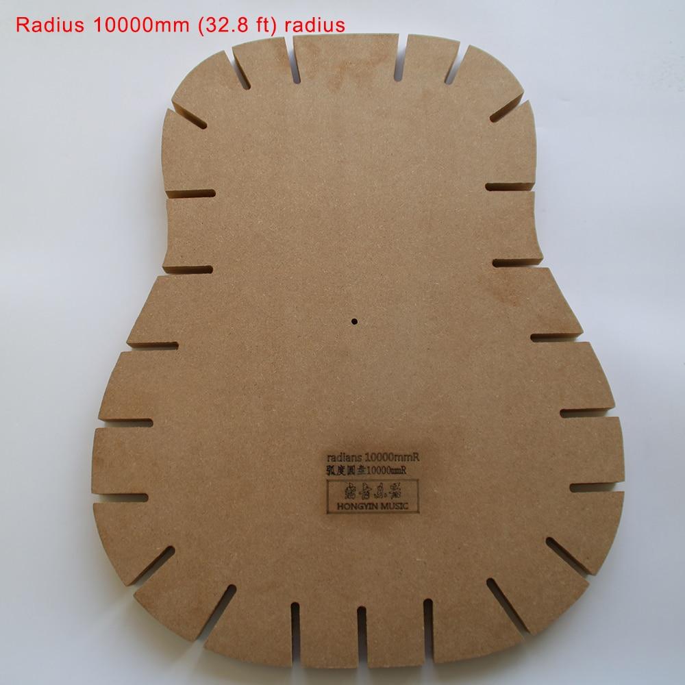 Guitar Shape Guitar Sound Beam Bonding Side Plate Radius Grind Radius Guitar Making Tools Mold Template Radius 10000mm (32.8 ft) m style ваза настольная radius