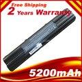 Nova bateria de substituição Laptop ASUS A42-A3 A41-A3 A41-A6 A42-A6 A6E A6F A6G A6J A6Ja A6Jc A6Je A6Jm a6k, Frete grátis