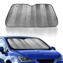 Автомобильный складной солнцезащитный козырек авто солнцезащитный козырек лист лобовое стекло лето зима переднее заднее стекло Солнцезащитный козырек