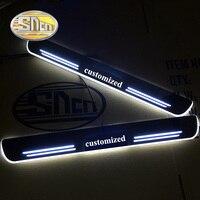 SNCN 2 шт Автомобильная дверь с электроприводом порог для BMW M4 F82 F83 2014 2019 ультра тонкий акрил Динамический светодиодный приветственный свет На
