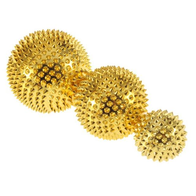 BellyLady Massager Ball Roller Palms Pressing Acupoints Magnetic Hand Acupuncture Ball Needle Massager Health Care