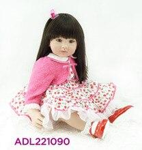 Muñeca reborn de 60 cm  Vestido con cerezas