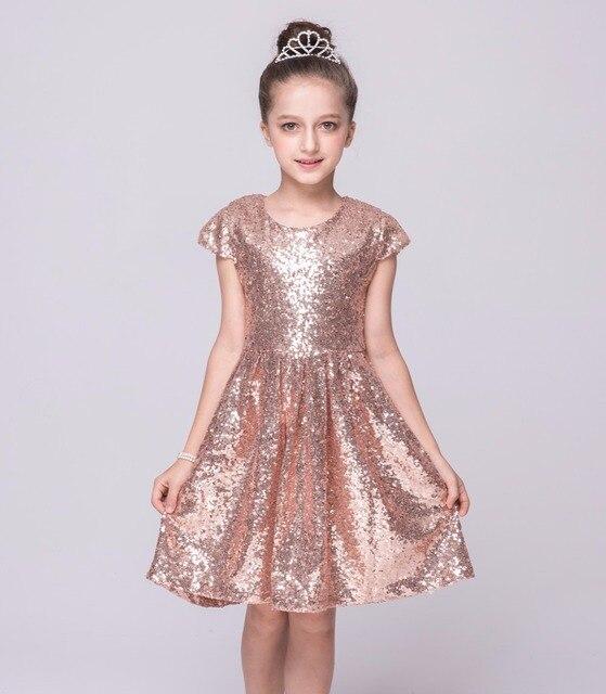 84a0deaaa Girls Sequined dresses