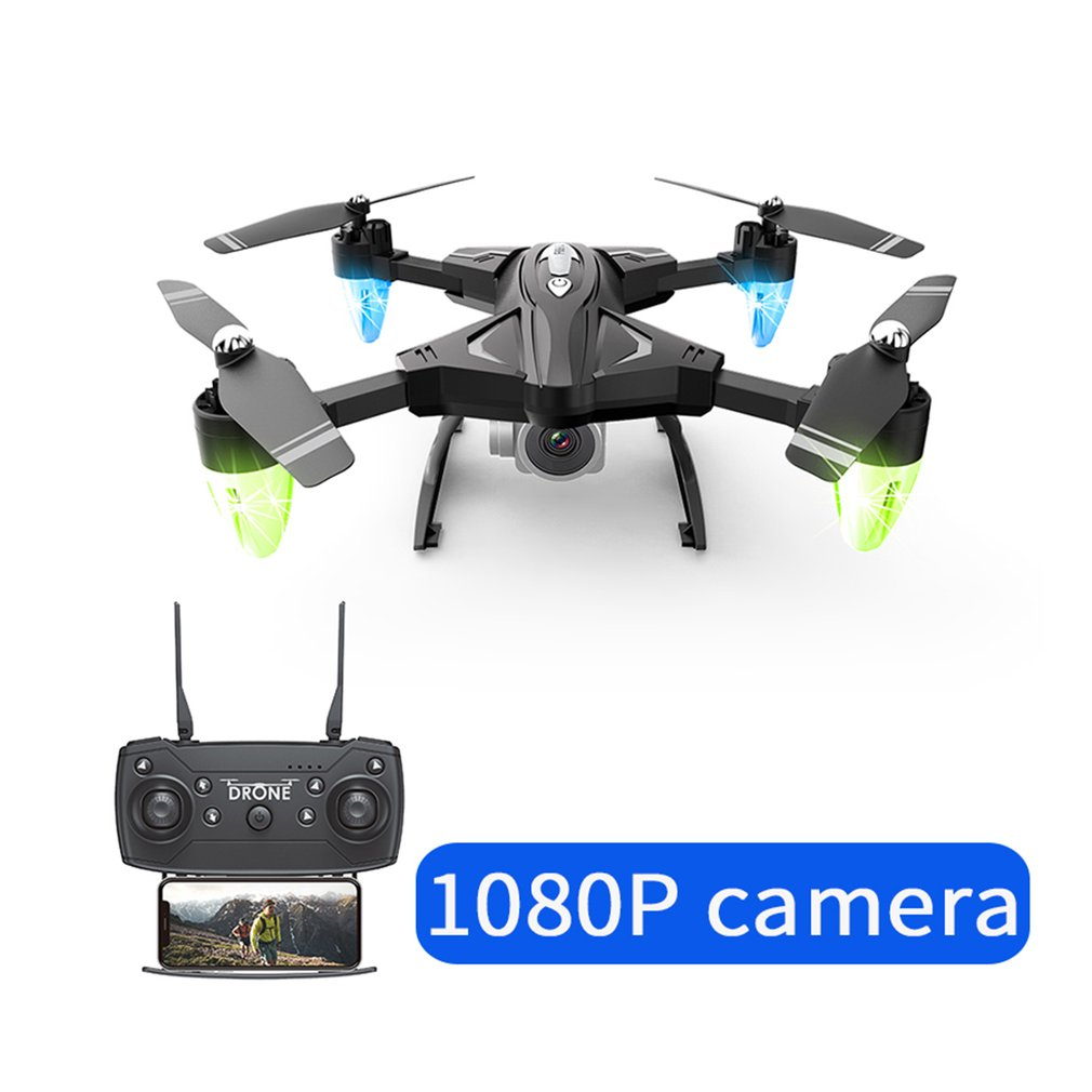 F69 Foldable Arm RC Drone WIFI FPV 1080P/480P Wide Angle HD Camera Altitude Hold Headless Mode RC Helicopter Aircraft image