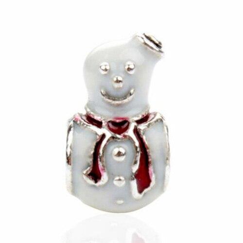 Макси маленькое Рождественское дерево костыль колокольчик Санта Клаус подвески-шармы Pandora Браслеты и браслеты для женщин DIY для украшения подарка