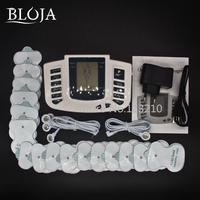 JR309 Electric Slimming Full Body Relax Pulse Muscle Stimulator Tens Therapy Machine Massager Vibrateur 16 Electrode