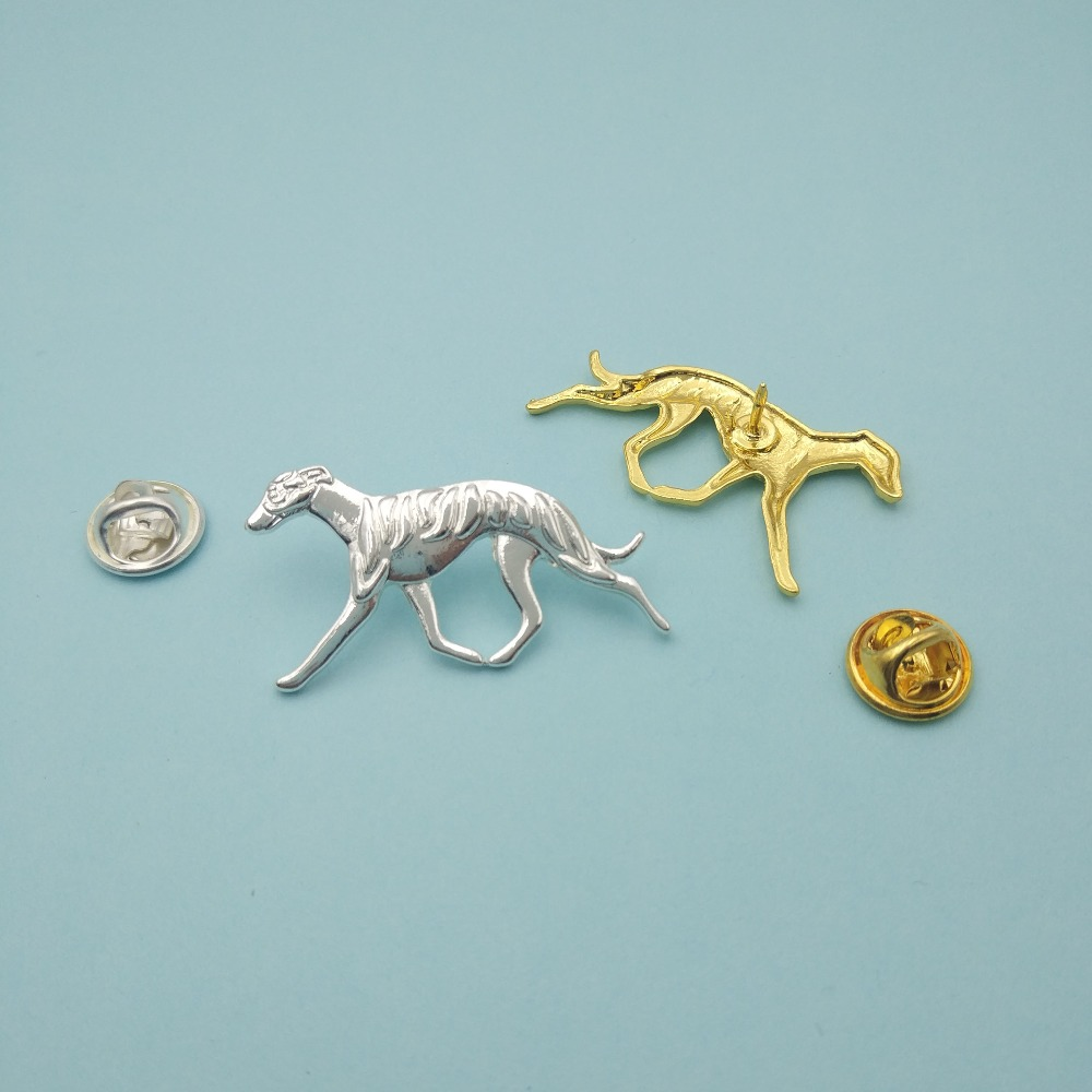 LPHZQH hot wholesale cute trendy Whippet dog Broches and pins Collar Pin Jewelery Clothing Accessories Men's Gift